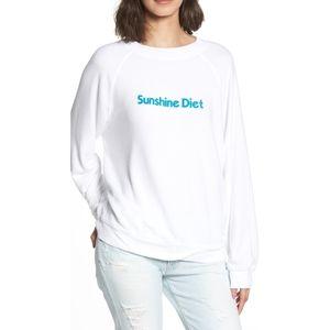Wildfox Sunshine Diet Sweatshirt